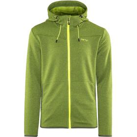 Meru M's Serres Jacket Green Striped